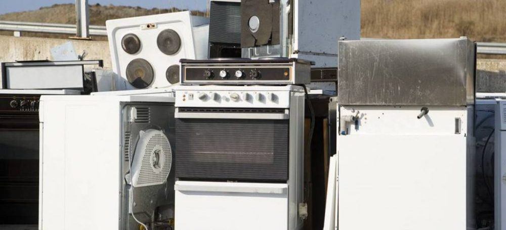 Old appliances for appliance removal