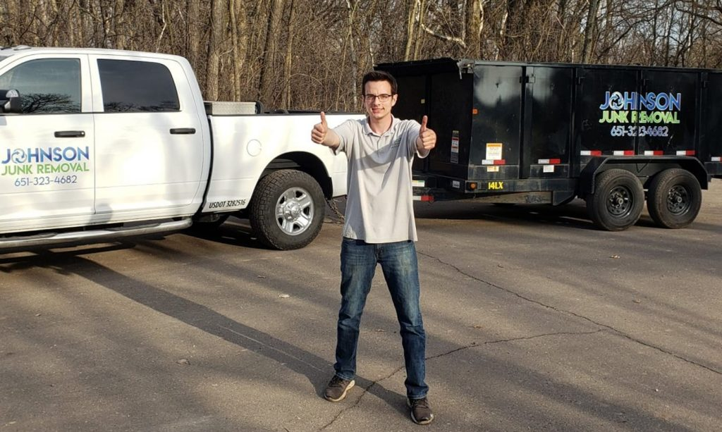 Chase Johnson from Johnson Junk Removal
