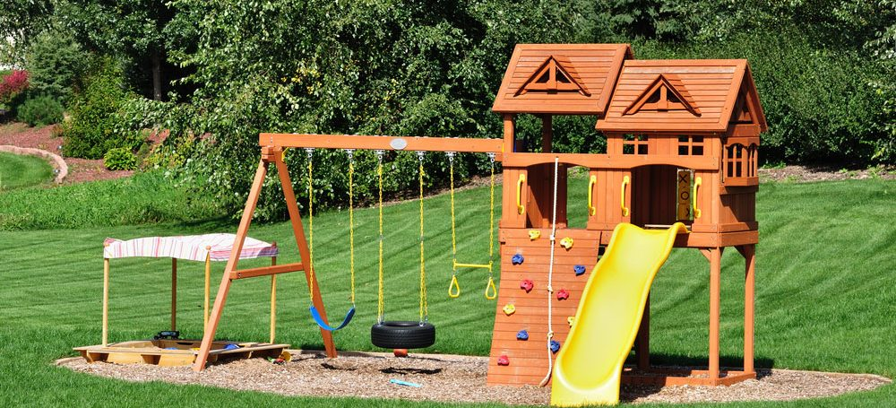 Swing set for swing set removal
