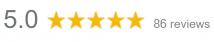 5 stars based on 86 Google reviews