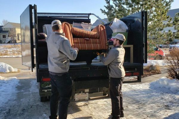 Furniture donation services by Johnson Junk Removal
